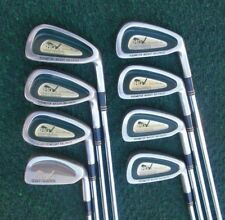 "Henry Griffits Green Back Oversize Irons 3 Thru 9 +1"" WEK Sand Wedge Very Nice"