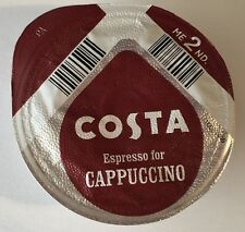 48x Tassimo Costa Espresso for Cappuccino Coffee T-discs (Sold Loose) Expresso