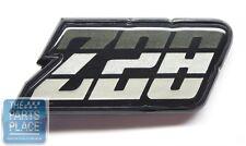 1980-81 Chevrolet Camaro Z-28 Fuel Door Emblem - Green