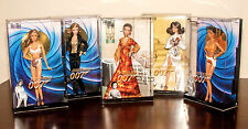Complete set of James Bond 007 Barbie dolls - Honey Ryder Jinx Solitaire Galore