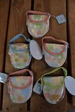 Lot of 5 Tiny Two's Pacifier Holders NWT