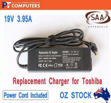 19V 3.95A 75W Laptop Charger AC Adapter for Toshiba Satellite L750 L750D C850D