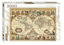 Puzzle-2000 Historical map of the world