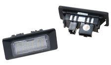 Für Audi  VW und Seat LED SMD 2x Kennzeichen Beleuchtung CAN-Bus 6000K  A563