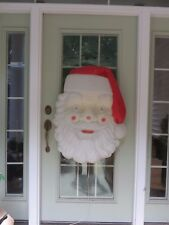 """Vintage Empire Giant 36"""" x 26""""Tall Santa Head Face Lighted Blow Mold #1347"""