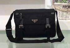 9c6a5d36024e AUTHENTIC PRADA BT6671 MESSENGER CROSSBODY UNISEX BAG. BLACK NYLON VELA  SPORT.
