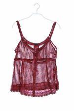 NILE Garment Dyed-Streifen-Top S Oberteil