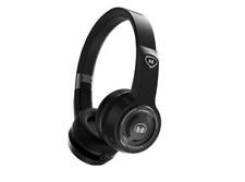 Monster Elements On-Ear Bluetooth Headphones- Black Slate