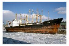 mc3994 - Russian Cargo Ship - Deneb , built 1968 - photo 6x4