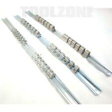 """3pc Mechanics Socket Retaining Rail Clip holder 1/4"""",3/8"""" & 1/2"""" snap On sockets"""