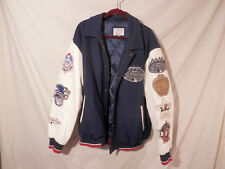 2008 Yankees All Stars Wool & Leather Jacket XL  Genuine Merchandise RARE