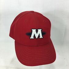 Memphis Redbirds MiLB New Era Fitted Cap Hat 1998-2007 Logo Navy Red 7 1/8