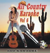 All Country Karaoke V. 6 Favorites 2009 16 Song CD+G Carrie Underwood cdg