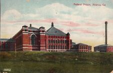1909 FEDERAL PRISON Atlanta GA to Mr. NA Schwinger, Souvenir Post Card Co 12932