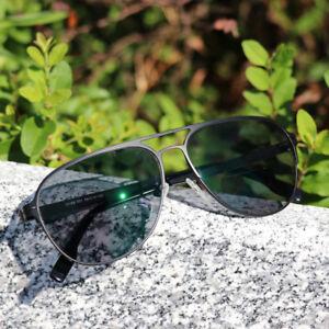 Vintage Bifocal Reading Glasses Transition Photochromic Sunglasses Metal Readers