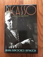 Picasso: Creator and Destroyer by Arianna Huffington Signed Copy HCDJ