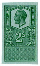 (I.B) George V Revenue : Unappropriated Die Proof 2/-