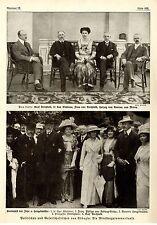 GARTENFEST BEI  VON HEGELMÜLLER IN ABBAZIA * Historische Memorabile 1914