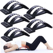 2017 Back Magic Stretcher Lower Lumbar Massage Support Spine Posture Corrector