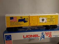 Lionel modern boxcar sprit of76 mass box car