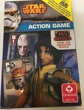 STAR WARS ACTION GAME DISNEY HAPPY FAMILIES CARDS DIGITAL STORYBOOK INSIDE-BNIB