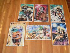 "Animal Mystic Set of 6 Color Prints Queen Jatarri The Dark One Posters 11"" x 17"""