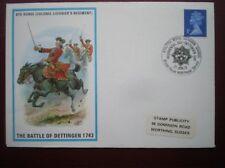 ARMY COVER 1973 8TH HORSE (COL LIGONIER'S REGT) BATTLE OF DETTINGEN 1743