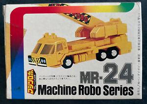Robo Machine Gobots Mr 24 Crain Brain