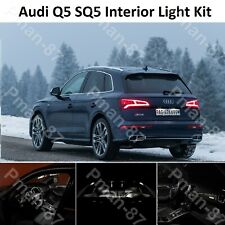 DELUXE AUDI Q5 SQ5 FULL INTERIOR WHITE FULL UPGRADE LED LIGHT KIT