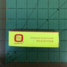 Ohmite Vitreous Enamel Power Tubular Resistor 2k Ohm 50 Watt 0574 D50K1K0