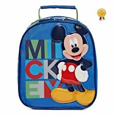 Disney Collection Boys Mickey Lunch Tote Box Blue Multi One size 3+ NEW