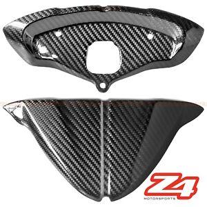 Ducati 848 1098 1198 Carbon Fiber Front Instrument Tach Gauge Dash Cover Fairing