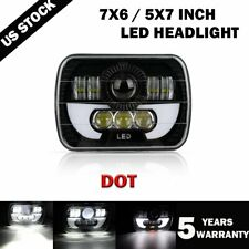 """2019 NEW 5X7"""" 7x6 inch Rectangle LED Cree Headlight DRL for Toyota Pickup Truck"""