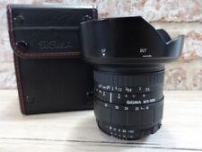 Sigma Zoom 18-35mm 1:3.5-4.5 Lens in Case
