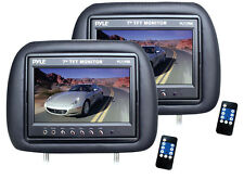 """Pyle Pl71phb Plye-view Series Headrest With Built-in 7"""" Tft Lcd Monitor (pair)"""