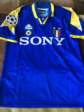 Juventus Retro shirt 1996 CL Final VIALLI DEL PIERO ZIDANE CONTE  S M L XL