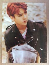EXO SEHUN USA Official Postcard PHOTOCARD [DON'T MESS UP MY TEMPO] 5th Album