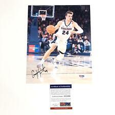 Corey Kispert signed 8x10 photo PSA/DNA Gonzaga Bulldogs Autographed
