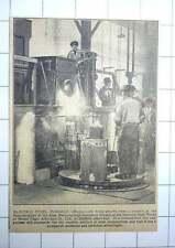 1927 Imperial Steelworks Edgar Allen Sheffield Electric Furnace