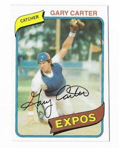 Gary Carter 1980 Topps #70 Baseball Trading Card Montreal Expos HOF