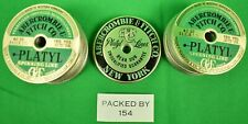 Abercrombie & Fitch Platyl Spinning Line Labels New in Box!