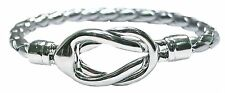 BULK LOT X 12 RHODIUM WOMENS KNOT BRACELET