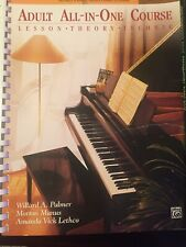 Adult Piano Lesson Books & Cds mostly New!