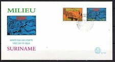 Suriname - 1994 Environment / Stop pollution - Mi. 1475-76 clean FDC