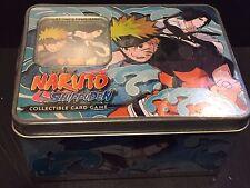 NARUTO Shippuden SHONEN JUMP CCG Card Game TIN #1 Packs + GOLD FOIL Card Ser 7