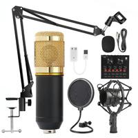 Microfono Professionale a Condensatore Kit Studio di Registrazione BM800 Youtube