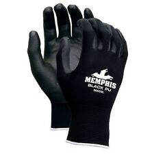 1 Dozen Memphis Polyurethane Coated Nylon Work Gloves, Large