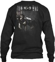 Police K-9 Unit Gildan Long Sleeve Tee T-Shirt