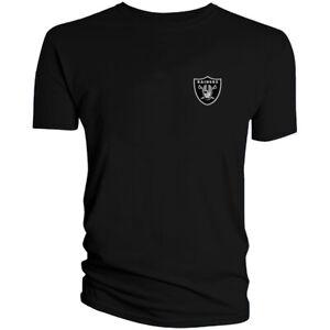 Las Vegas Raiders T-Shirt Graphic Men Cotton Oakland Chest