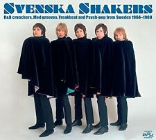 AA.VV. SVENSKA SHAKERS Mod Beat Psych-pop from Sweden '64-'68 2CD NEW .cp